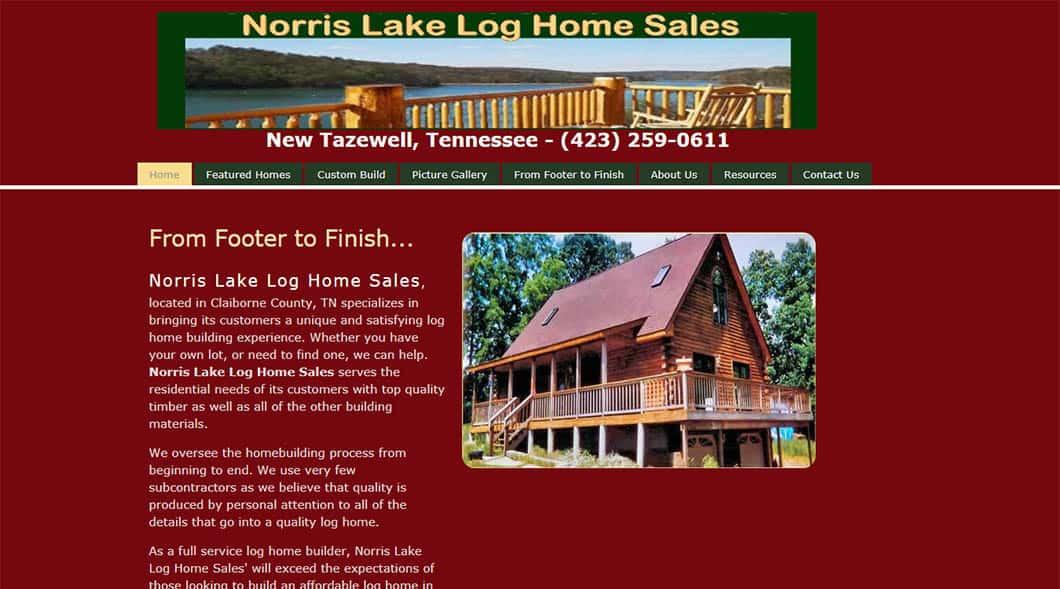 NorrisLakeLogHomeSales.com