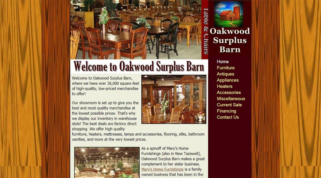 OakwoodSurplusBarn.com